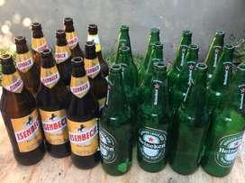 envases de cervezas (21) vendo el lote