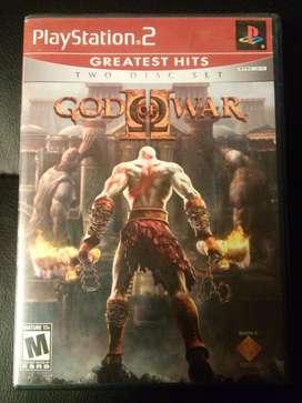 PS2 God Of War II S/150 soles
