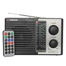 Radio Parlante Portatil Portable Recargable AM FM SW AM00117