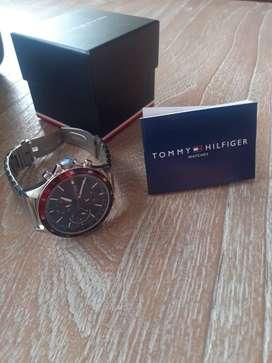 Tommy Hilfiger Reloj de Acero quirúrgico multifuncional