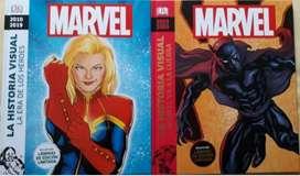 COMICS MARVEL HISTORIA VISUAL TOMO 1,2