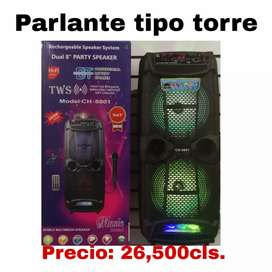 Parlante tipo torre