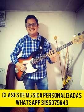 Clases virtuales guitarra y organeta