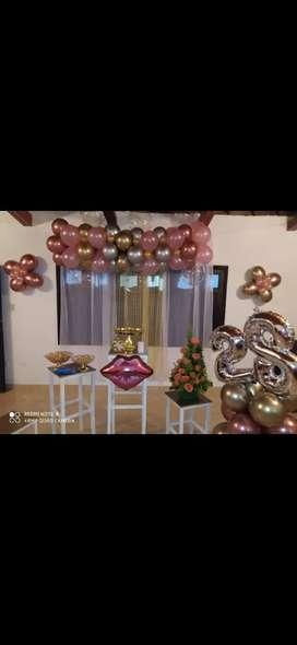 Decoraciones de fiestas y pasteles