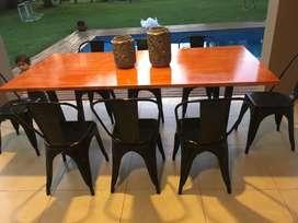 Mesa de comedor , estilo industrial
