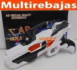 Pistola Bluetooth Juego Vr Wireless 3d Celular