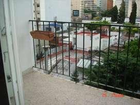 Departamento 1 ambiente - balcón - Belgrano
