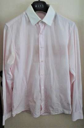 Camisa Key Biscane Original Rayada Usada