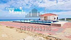 ENTRADA DE 1.000 USD, Venta de Lotes Urbanizados Frente al Mar Frente a La Isla de la Plata, a 35 minutos de Manta, S1