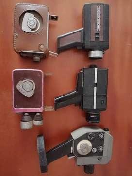 Cámaras de cine y  video antiguas
