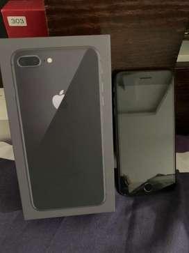 Iphone 8plus negro
