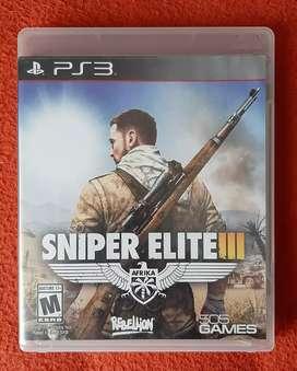 PS3 Sniper Elite III  Audio en español sin Raya