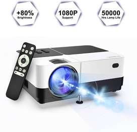 Geargo (Versión Actualizada) Proyector De Vídeo Hd De 2800 Lumens