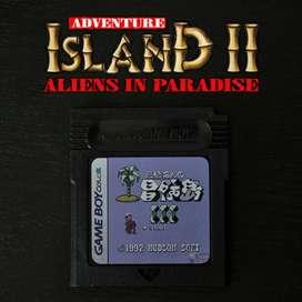 Juego ADVENTURE ISLAND 2 para Nintendo Game Boy