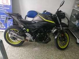Vendo mi moto yamaha mt03 sin motivo