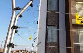 Basta de robos instalé cercos eléctricos al mejor precio