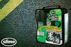 SLIME, kit para parchado de neumáticos para auto