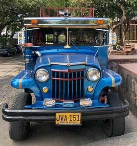 Vendo Jeep Willys modelo 56