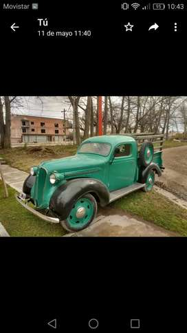 Vendo camioneta plymouth coleccion antigua