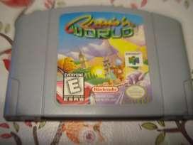 Juego Nintendo Snes 64 Cruisn Word Original Excelente Estado
