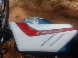 Bacha blanca de moto