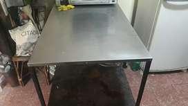Mesa de aluminio
