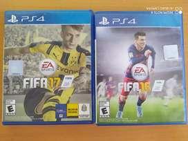 FIFA 16 y FIFA 17