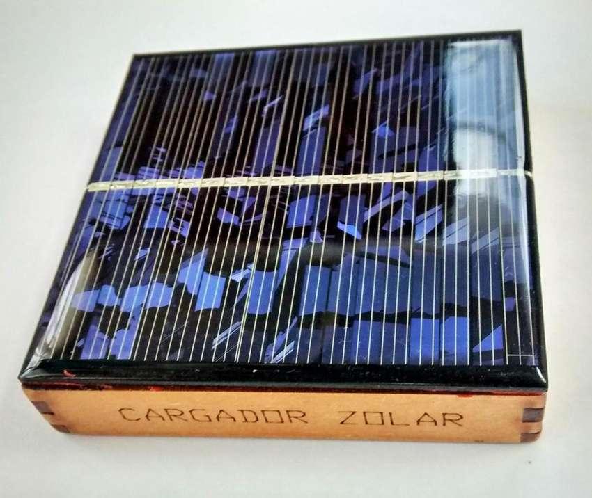 Cargador Solar Baterías Recargables AA 0