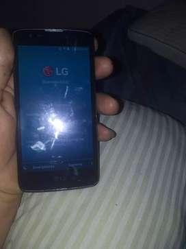 LG k8 libre cel y cargador