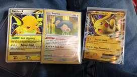 Cartas sueltas de Pokemon Picachu
