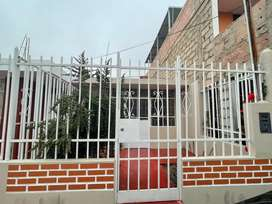 Alquilo casa 1 piso Urb Tacna