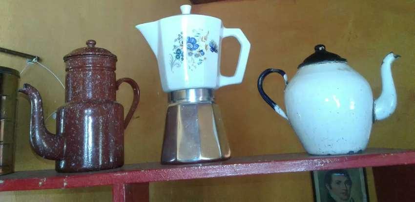 Vendo cafeteras antiguas vintage 0