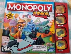 Juego Monopoly Junior nuevo