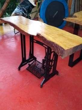 Nueva tendencia en muebles rusticos