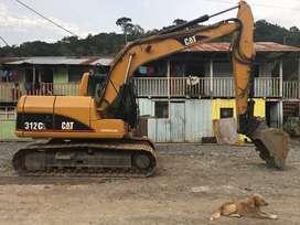 VENDO EXCAVADORA 312 CL