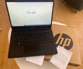 HP Laptop black con garantía vigente