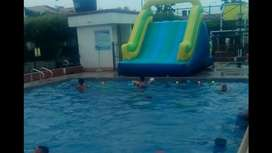 alquiler de deslizadores de piscina, inflables para piscina, piscinadas en cucuta