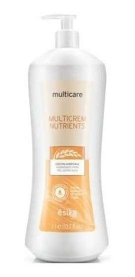 Loción corporal Multicrem Nutrients Ésika 1 litro