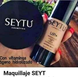 Maquillaje resistente  a el agua y al sudor