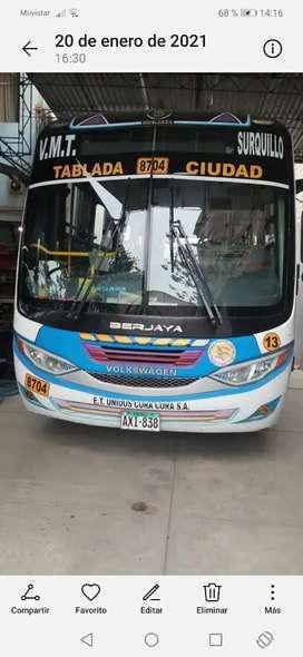Se vende bus wv en buen estado