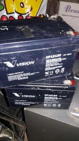 Bateria Recargable 12v 12A