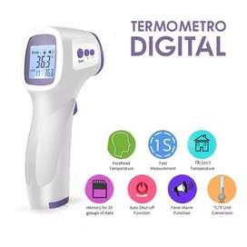 Termómetro Digital con sistema Infrarrojo para empresas Comercio en General Disponibilidad Inmediata