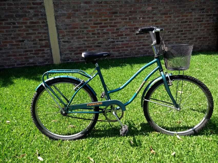 Bicicleta paseo dama rodado 26 usada
