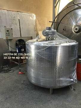 Tanques para enfriamiento de leche cruda