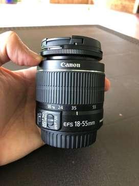 Lente Canon EF-S 18-55mm f/3.5-5.6 IS II LENTE ZOOM ESTÁNDAR