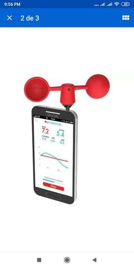 Medidor De Velocidad Y Corriente De Aire Para Teléfonos