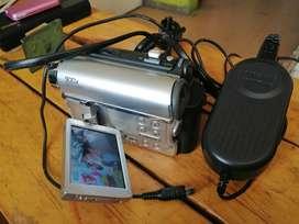 Reproductor de video samsung SC D455 minidv tarjetas cargador