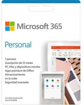 3_6_5_Office. Suscripción por 1 año. Licencia de Microsoft