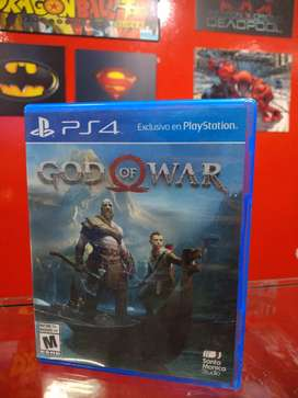 God of War 4 Playstation 4 fisico