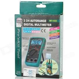 Tester multimetro digital Autorrango Proskit MT1232